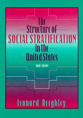 The structure of social stratification in the United States