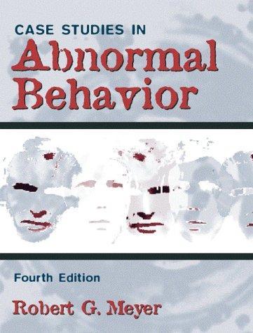 Download Case studies in abnormal behavior