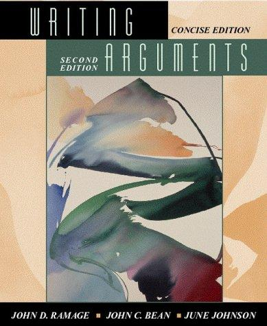 Download Writing arguments