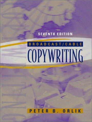 Download Broadcast/cable copywriting