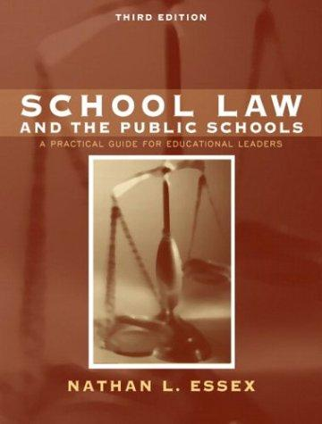 Download School law and the public schools