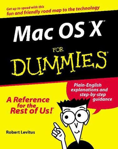 Download Mac OS X for Dummies