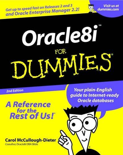 Download Oracle8i for Dummies