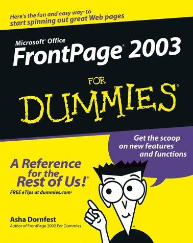Download Front Page 2003 for Dummies