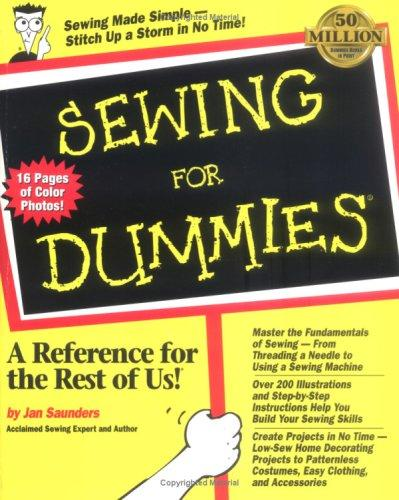 Download Sewing for dummies