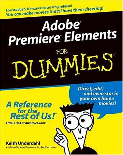 Download Adobe Premiere Elements for Dummies