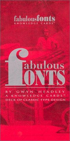 Image for Fabulous Fonts: A Knowledge Cards Deck of Classic Type Design
