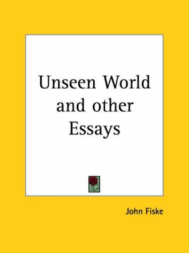 Download Unseen World and other Essays
