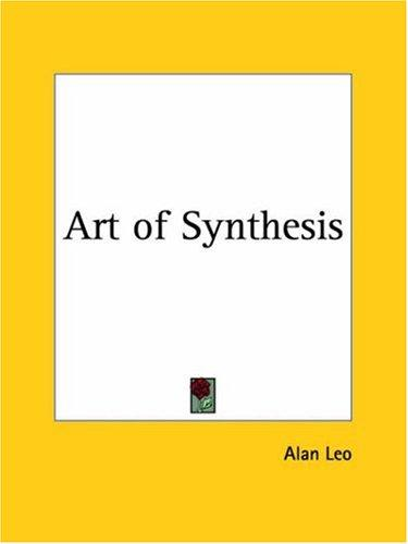 Download Art of Synthesis