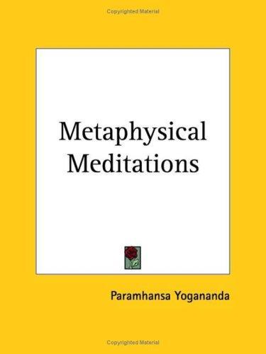 Download Metaphysical Meditations