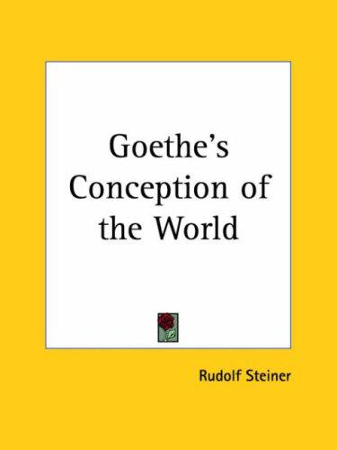 Download Goethe's Conception of the World