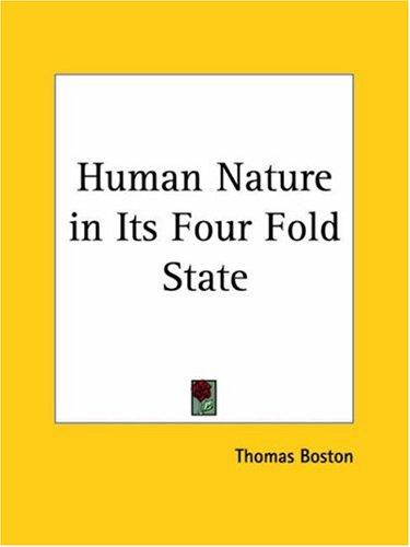 Download Human Nature in Its Four Fold State