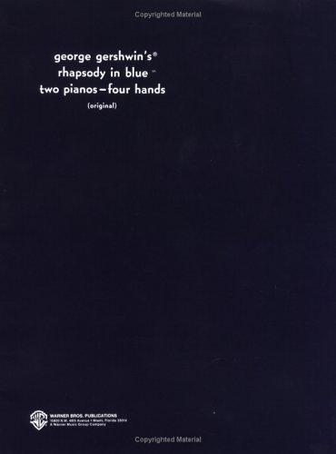 Rhapsody in Blue (Original) (Belwin Edition)