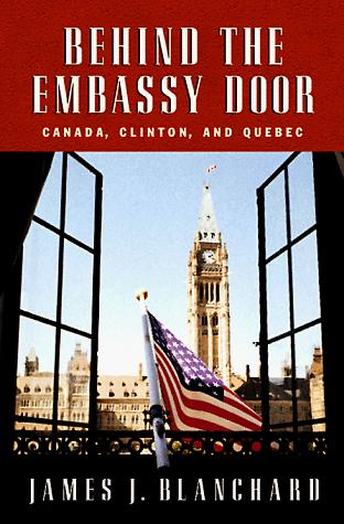 Behind the embassy door