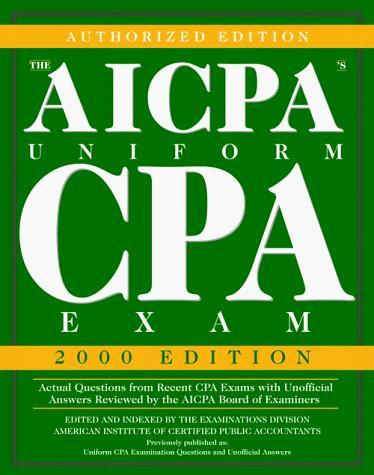 The AICPA's Uniform CPA Exam