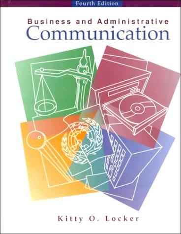 Download Business Administrative Communication