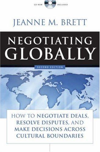 Negotiating Globally