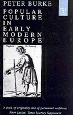 Download Popular Culture in Early Modern Europe