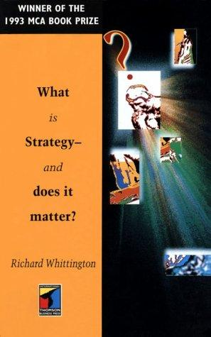 Download What Is Strategy-And Does It Matter?