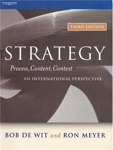 Strategy–process, content, context