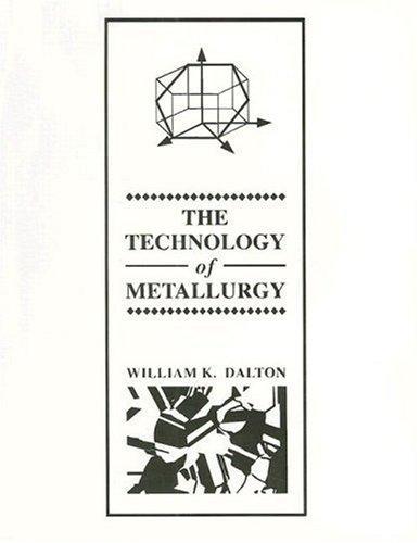 The technology of metallurgy