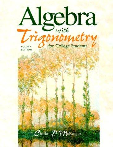Download Algebra with trigonometry for college students