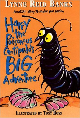 Harry the poisonous centipede's big adventure