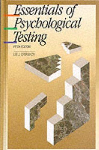 Download Essentials of psychological testing