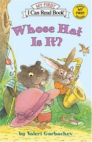 Whose Hat is It Cover