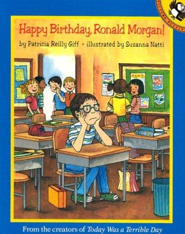 Happy birthday, Ronald Morgan!