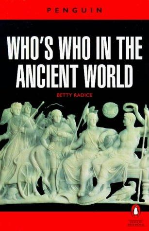 Download Who's who in the ancient world