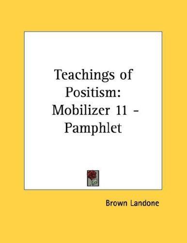 Download Teachings of Positism