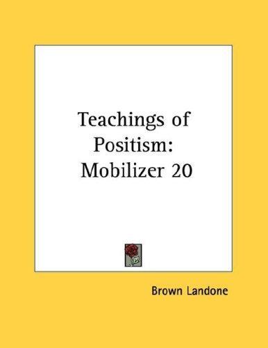 Teachings of Positism