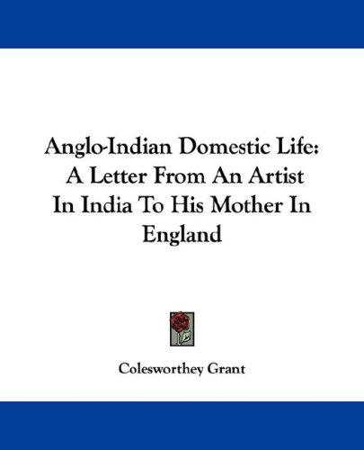 Anglo-Indian Domestic Life