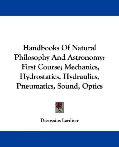 Download Handbooks Of Natural Philosophy And Astronomy