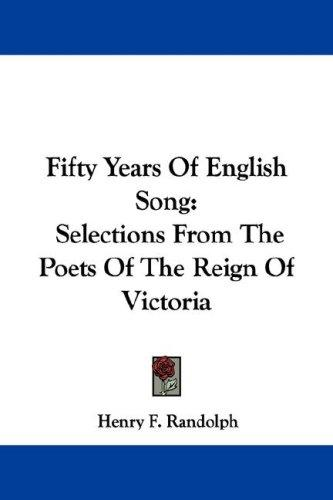Fifty Years Of English Song