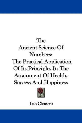 Download The Ancient Science Of Numbers