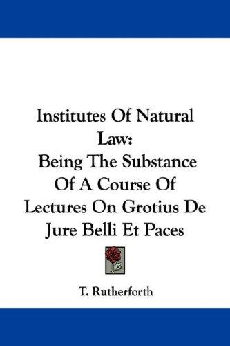 Download Institutes Of Natural Law