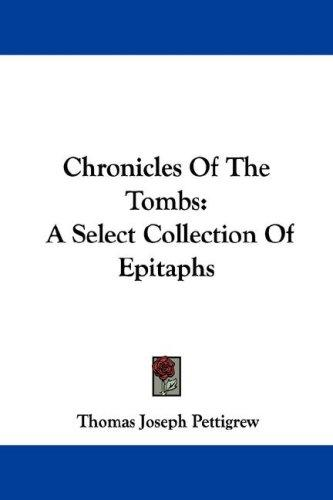 Chronicles Of The Tombs