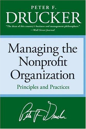 Download Managing the Nonprofit Organization
