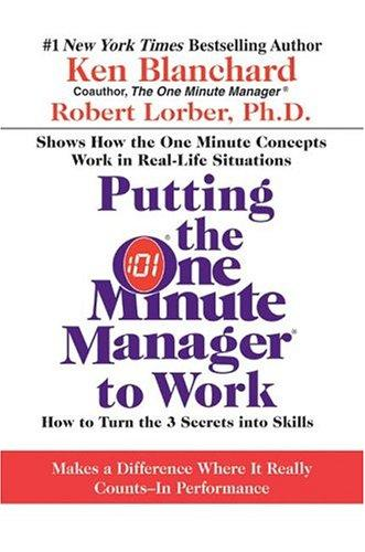 Download Putting the One Minute Manager to Work