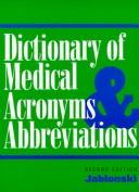 Download Dictionary of medical acronyms & abbreviations