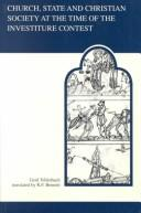 Download Church, state, and Christian society at the time of the investiture contest
