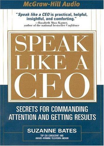 Download Speak Like a CEO