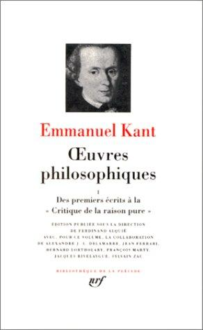 Oeuvres philosophiques, tome 1