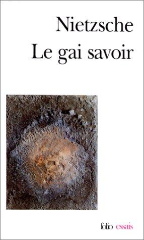 Download Le gai savoir