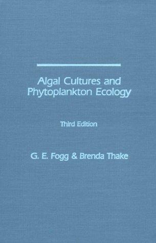 Download Algal cultures and phytoplankton ecology
