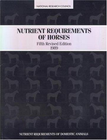 Download Nutrient requirements of horses