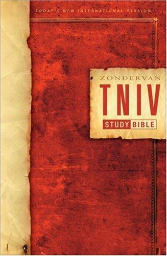 Zondervan TNIV Study Bible, Personal Size
