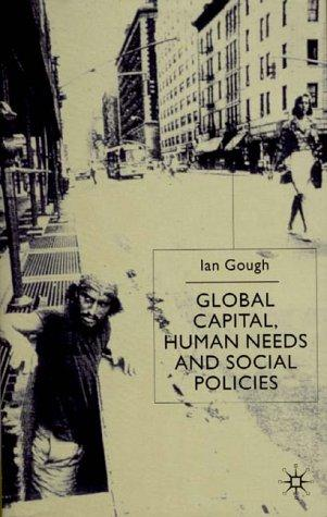 Download Global Capital, Human Needs and Social Policies